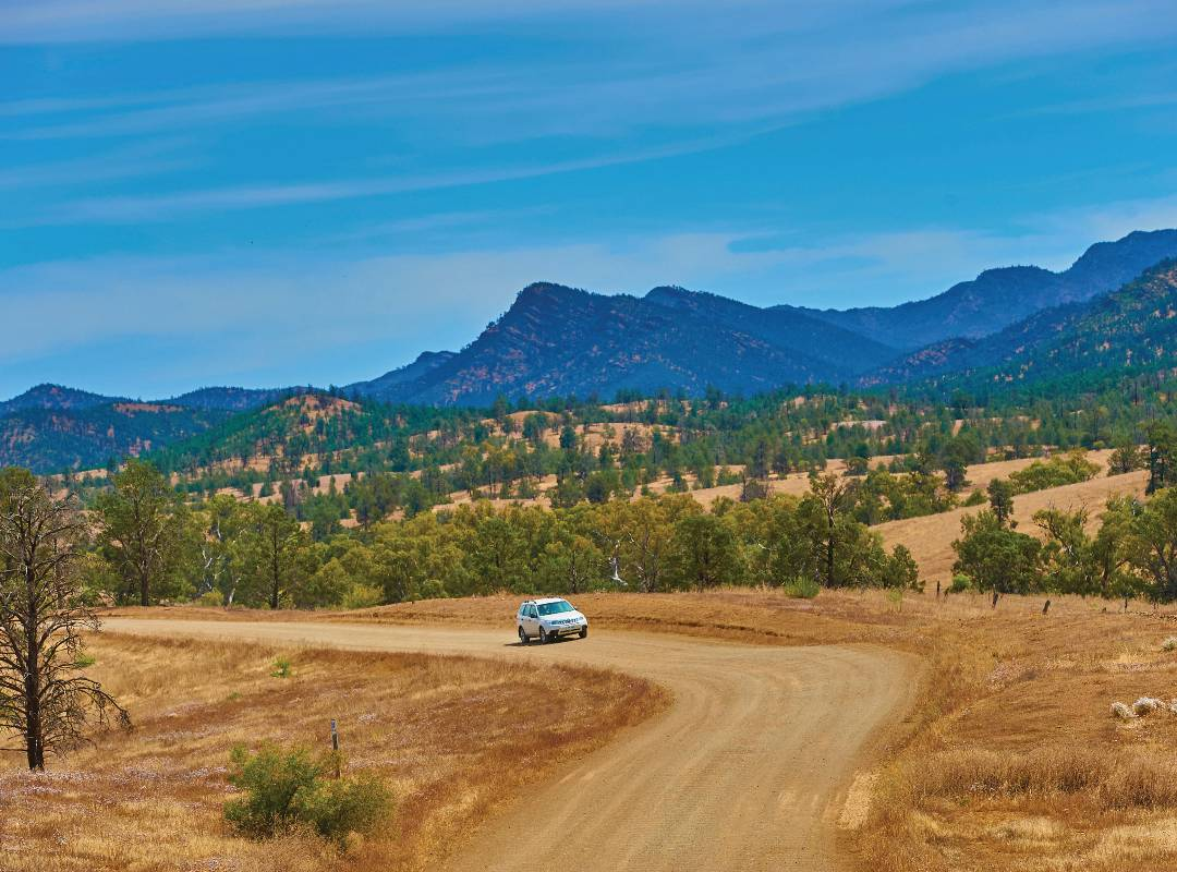Flinders Ranges - Road to Black Gap Lookout